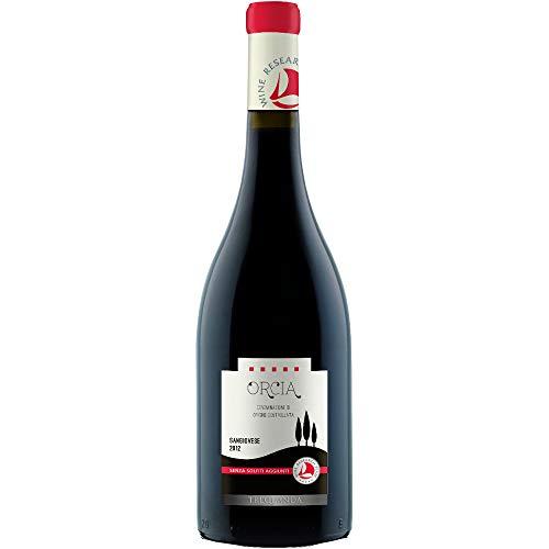Orcia SanGiovese DOC senza solfiti Trequanda Rossi Vino Rosso italiano (1 bottiglia 75 cl.)