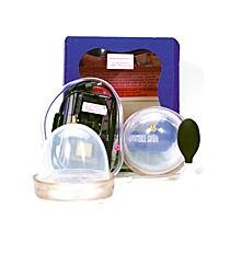 Fröhle Busensaugschalen Set mit elektrischer Pumpe - CUP C - Brustvergrösserung -