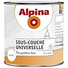 ALPINA Sous Couche Universelle   Mat Blanc 0,5L 5m²