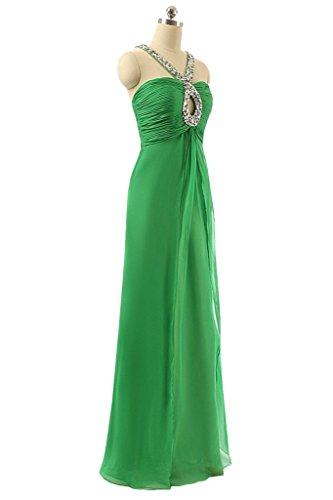 Sunvary supporto, elegante Chiffon Prom Sexy vestiti da festa Green