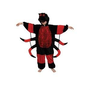 Kinder Kostüm Insekten - Spider (L)