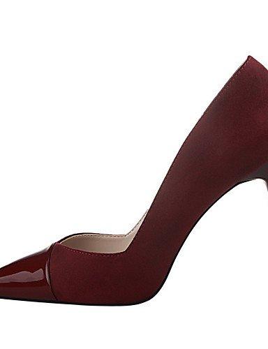 WSS 2016 Chaussures Femme-Extérieure / Bureau & Travail / Soirée & Evénement-Noir / Rose / Rouge / Gris / Bordeaux / Fuchsia-Talon Aiguille-Talons pink-us8 / eu39 / uk6 / cn39