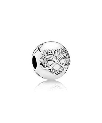PANDORA - Clip Heart of Infinity 925/1000 silver PANDORA 791947CZ