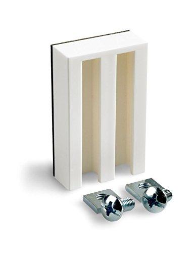 Ventanara Universal Haftträger für Rollos und Jalousien ohne Bohren Weiß 10er Set