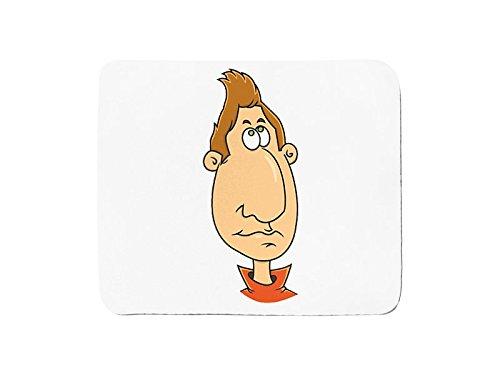 Mousepad with El Hombre Nariz cartoon character.