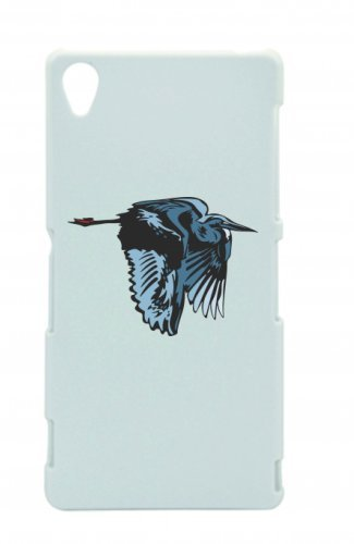 Smartphone Case uccello vola in blu per APPLE IPHONE 4/4S, 5/5S, 5 C, 6/6S, 7 & Samsung Galaxy S4, S5, S6, S6 Edge, S7, S7 Edge Huawei HTC - Divertimento Motiv di culto Idea Regalo Pas