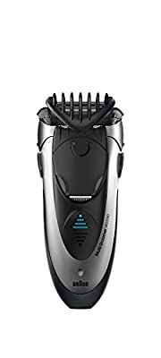 Braun MG5090 Men's Multi Groomer Wet and Dry Shaver Styler and Beard Trimmer Cordless and Rechargeable