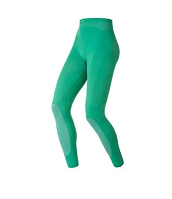 Odlo Womens Evolution Warm Long Baselayer Tights Mystic Green - Bay X-Large-Long