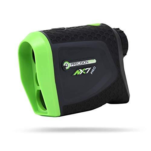 Precision Pro Golf NX7 Pro Laser Entfernungsmesser - Golfer Range Finder mit Slope und Non-Slope Feature - Perfekte Golf Zubehör oder Golfer Geschenk