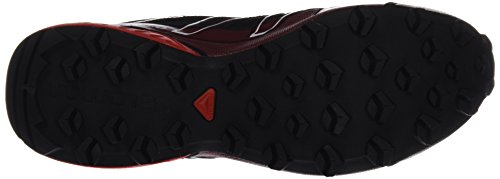 Salomon Herren Speedcross Vario GTX Traillaufschuhe Schwarz (Black/radiant Red/brique-x)