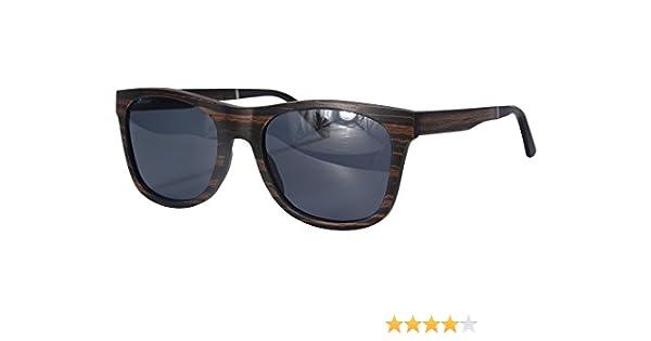57c1262e35c Genuine Wood Sunglasses handmade Wooden Wayfarers for Men-SH73007 (ebony