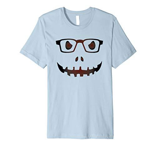 (Nerdy Aussenseiter Kürbis Halloween Jack O Lantern T-Shirt)