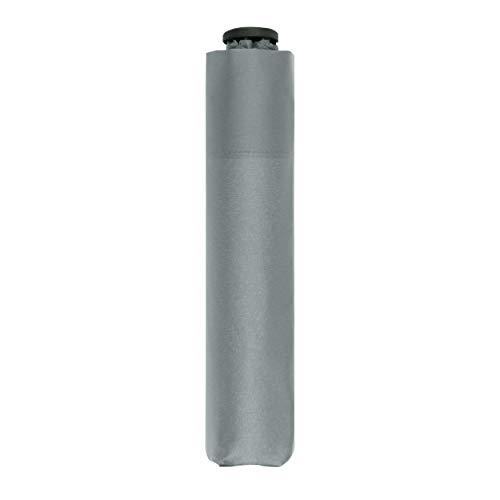 doppler Taschenschirm Zero,99 - Gewicht von nur 99 Gramm - Stabil - Windproof - 21 cm - Cool Grey