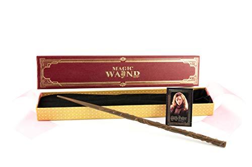 Delta Kairos Hermine GRANGERS Zauberstab - Harry Potter-Figuren - Langlebig - Handgemalt - 36 cm - mit Premium-Box
