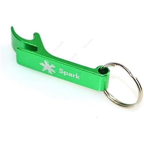 Y&XL&H Colore creativo portachiavi bottle opener in alluminio lega portachiavi in metallo - Gomma In Acciaio Inox Portachiavi