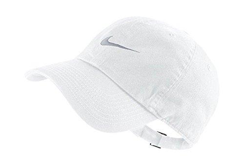 Nike swoosh h86 - blue cappello, white/wolf grey, taglia unica