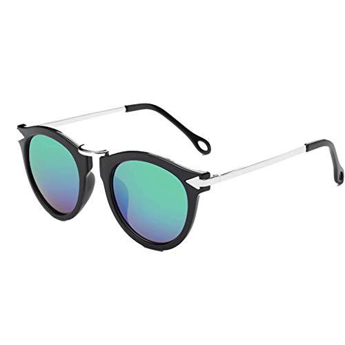 Junecat Frauen Metall Plasric Rahmen Sonnenbrillen Pfeil Sonnenbrillen UV400 Schutz Erwachsene Brillen Weibliche Außen Brillen