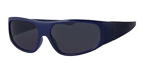 Eyewear World Kinder/Kinder und Blau Rahmen Sonnenbrille, mit gratis gelb um neckcord