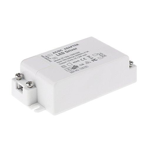 Generic Ac 100-240V DC 12V 12W LED Licht Adapter Treiber Transformator für MR11 / G4 / MR16 / GU5.3 LED Lampen Weiß