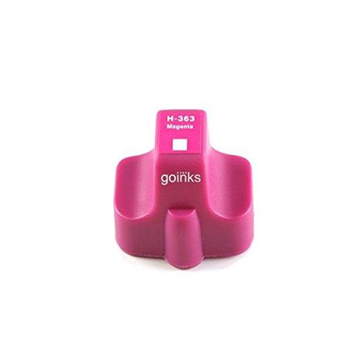 1 Go Inks Magenta Tintenpatrone als Ersatz zur verwendung mitTintenpatrone als Ersatz zur verwendung mit HP 363M (XL Kapazit�t) Kompatibel / Nicht-OEM zur verwendung mit HP Photosmart Drucker