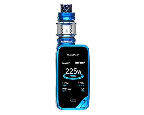 Authentische Smok Xpriv X Priv X-Priv Kit 225W TC TFV12 Prince tank Capacity 5 (Prisma Blau) Powered Sub-box