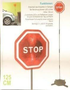 panneau de signalistaion stop leds - aide au stationnement de garage