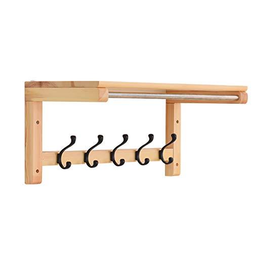 Panet Kleiderständer Wandbehang Wandaufhänger Veranda Eintritt Kleiderhaken Wohnzimmer Massivholz Mehrzweckständer (größe : 55.9 * 29.5 * 27.3cm)