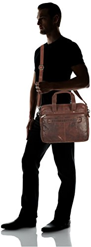 Spikes & Sparrow - Borsa a mano Bronco, Unisex - adulto Marrone (Braun (brandy))