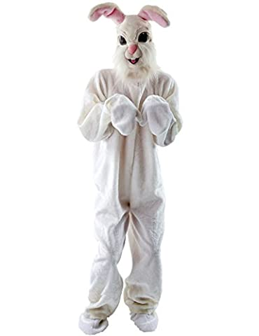 Adulte Deluxe Lapin - Adult Unisex Animal Easter Bunny Rabbit Mascot