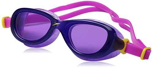 Speedo Kinder Futura Classic Schwimmbrille, Ecstatic Pink/Violet, One Size