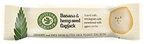 Doves Farm - Organic Banana & Hemp Seed Flapjacks - 4x35g (Case of 7)