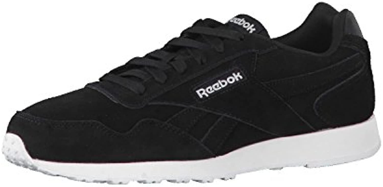 Reebok Royal Glide LX, Zapatillas de Trail Running para Hombre, Negro (Black/White 000), 40 EU