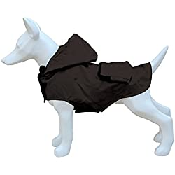 Freedog Impermeable Plegable Para Perro Color Negro