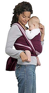 Amazonas Baby Fascia Porta Bebè Carry Sling Berry, 450 cm