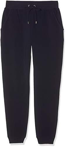 find. Jogginghose Damen aus Jersey, mit schmal zulaufendem Bein, Taschen und Tunnelzug, Blau (Navy), 36 (Herstellergröße: Small)