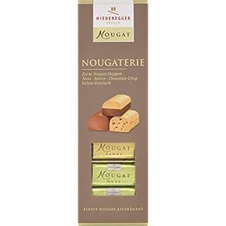 Niederegger Nougaterie 100g, Nougat Variationen zum Probieren, 5er Pack (5 x 100 g)