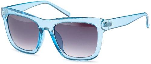 Feinzwirn eyewear Transparente Sonnenbrillen in trendiger eckiger Form und angesagten Pasteltönen, Brillentrends 2014