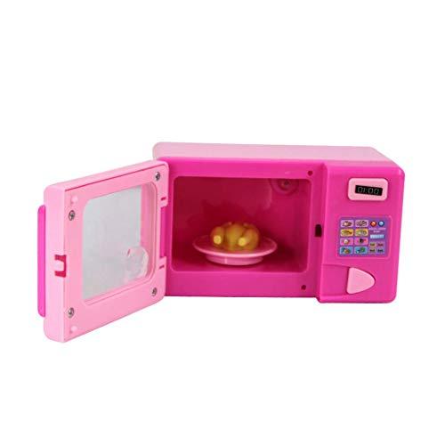 Ogquaton Mini Cocina Aparato eléctrico Horno de microondas Juego de Juguetes Educación...