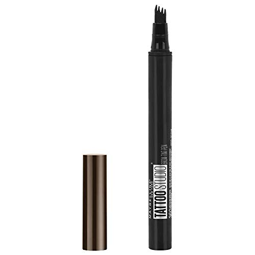 Maybelline New York Tattoo Brow Augenbrauenstift Nr. 120 Medium Brown, 1 ml