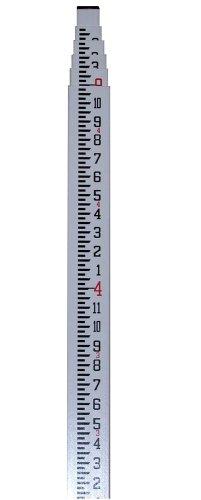 Bosch 06-916 Mire télescopique en fibre de verre avec étui En dixièmes et en pieds 16 pieds 4,8 m