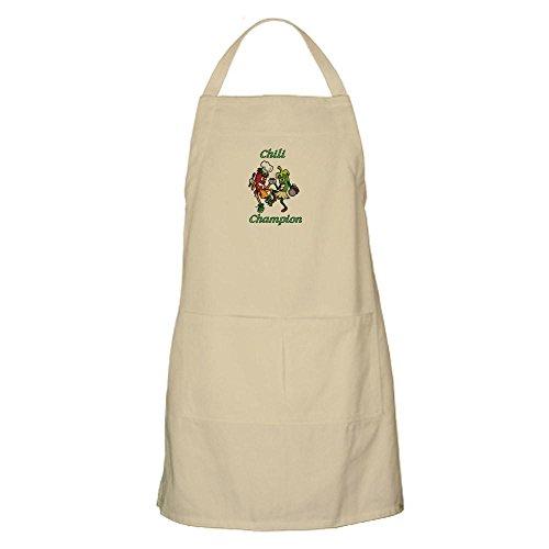 CafePress-Chili Champion BBQ-Küche Schürze mit Taschen Khaki