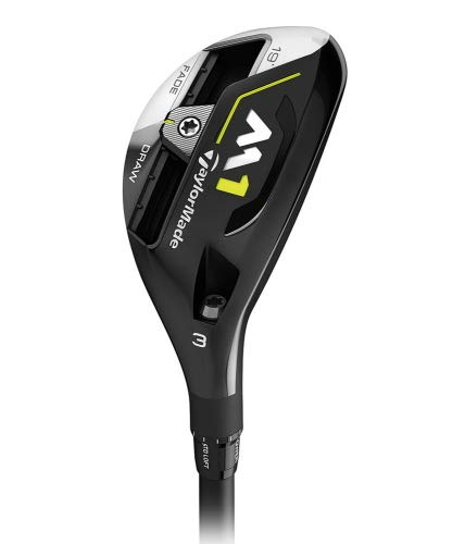 TaylorMade 2017 M1 Tour Issue Rescue/Hybrid 3h 19° Kuro Kage, Silber -