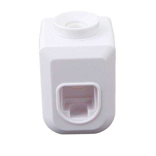 Lalang Automatisches Zahnpasta Squeezer Zahnpastaspender (Weiß)