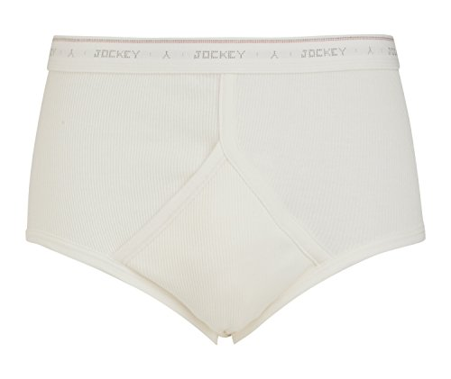 Jockey® Classic Cotton Rib Y-Front® Brief, White, Größe XXL -