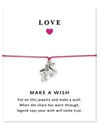 Love Bracelet with Unicorn Charm - Let your Dreams Come True!