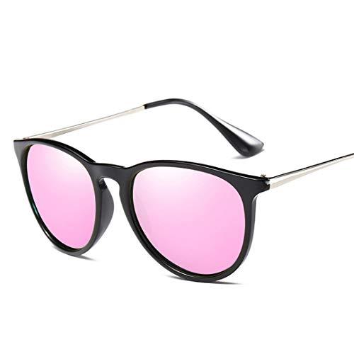 DAIYSNAFDN Polarisierte Sonnenbrille Frauen Männer Gold Rose Spiegel Sonnenbrille Für Vintage Shades Uv400 Pink