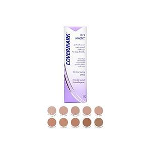 Covermark – 600500 – Correctivo Fundación Pierna – N ° 1 ¢ Al Beige – 50 ml