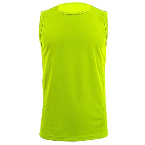 H.MILES Herren Achselshirts Running Sleeveless Shirts Tank Tops Tanktops Singlet Tank-Shirt Achsel-Shirt Made Clothing Line