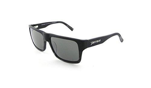 Peppers Polarisierte Sonnenbrille Kahuna schwarz zu grau verblasst mit Flash Mirror Lens