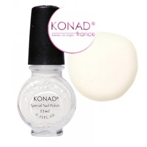 Konad Nail Art Special Stamping Polish White 11 ml